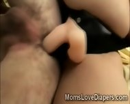 Beautiful Blonde Babysitter Slams Dirty Adult Baby Up The Ass - scene 10