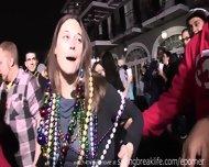 Girls Flashing At Mardi Gras - scene 8