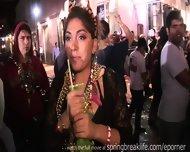 Girls Flashing At Mardi Gras - scene 11