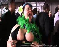 Girls Flashing At Mardi Gras - scene 3