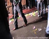 Girls Flashing At Mardi Gras - scene 4