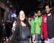 Girls Flashing At Mardi Gras - scene 5