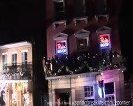 Mardi Gras Partiers - scene 3