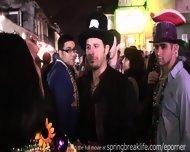 Girls Flashing On Bourbon Street - scene 3