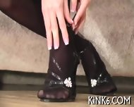 Colored Pantyhose For Sweetie - scene 8