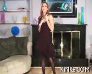 Colored Pantyhose For Sweetie - scene 4
