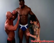 Gaysex Black Jocks Spitroast White Guy - scene 2