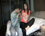 Adorable Babe Gets Nailed - scene 4