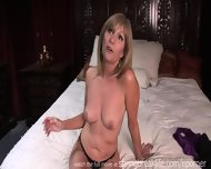 Milf Gets Naked On Her Bed - scene 9