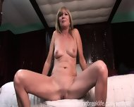 Milf Gets Naked On Her Bed - scene 11