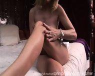 Milf Lotions Up Naked Body - scene 8