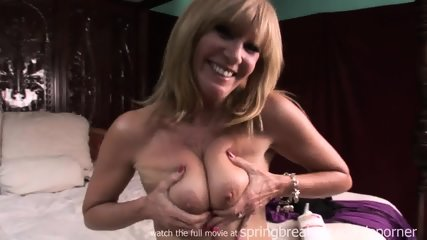 Milf Lotions Up Naked Body - scene 10