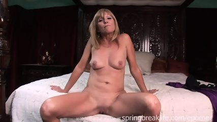 Milf Lotions Up Naked Body - scene 2