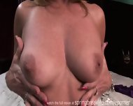Milf Lotions Up Naked Body - scene 7