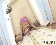 Stud Is Luring Babe With Kisses - scene 1
