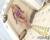 Stud Is Luring Babe With Kisses - scene 2