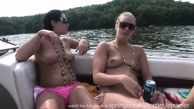 Drunk Girls On A Boat