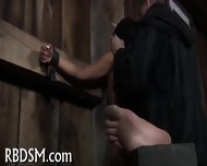 Chained Up Babe Is Punished - scene 2