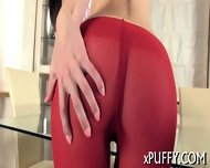 Babe Is Clipping Her Pussy Lips - scene 5