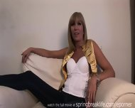 Hot Cougar Gets Naked - scene 1