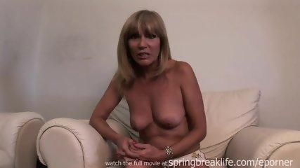 Hot Cougar Gets Naked - scene 5