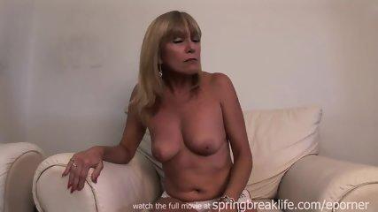 Hot Cougar Gets Naked - scene 7