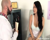 Fucked Hard By Horny Doctor - scene 1