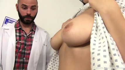 Fucked Hard By Horny Doctor - scene 3