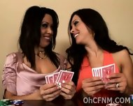 Naughty Babes Cheat At Strip Poker - scene 2