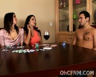 Naughty Babes Cheat At Strip Poker - scene 3
