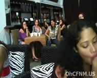 Naughty Hot Ladies Sucking Swollen Cock - scene 10