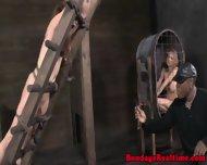 Nt Sub Gagging On A Big Dildo - scene 3