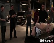 Racy Group Tormenting - scene 12