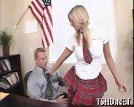 Big Guy Drills Schoolgirl - scene 1