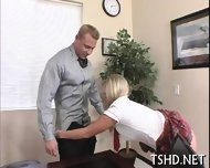 Big Guy Drills Schoolgirl - scene 2