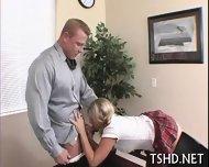 Big Guy Drills Schoolgirl - scene 3