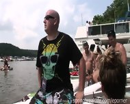 Party On The Boat With Naked Chicks - scene 4
