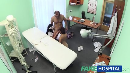 Doctor And Nurse Take Care Of Sexy Patient - scene 11