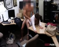 Foxy Business Lady Fucked By Pawnkeeper Inside The Office - scene 10