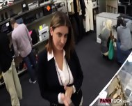 Foxy Business Lady Fucked By Pawnkeeper Inside The Office - scene 2