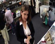 Foxy Business Lady Fucked By Pawnkeeper Inside The Office - scene 2
