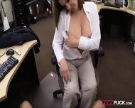 Foxy Business Lady Fucked By Pawnkeeper Inside The Office - scene 6