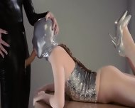 Luxury Strapon Girl2girl In Mask Playing - scene 5