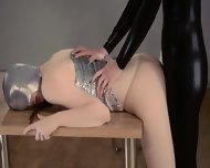 Luxury Strapon Girl2girl In Mask Playing - scene 6