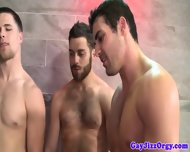 Muscled Hunk Studs Love Hot And Wet Orgy - scene 10