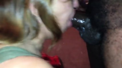 Deepthroat Granny Loves Black Cock - scene 6