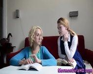 Lesbian Mormon Fingered - scene 2