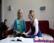 Lesbian Mormon Fingered - scene 4