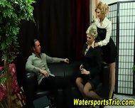 Glam Sluts Fuck In Urine - scene 3