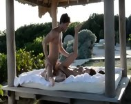 Exotic Teenie Making Love In The Gardens - scene 10